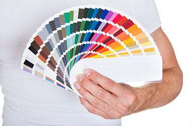 Faites entrer les couleurs avec des peintures acryliques